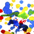 Stock Photo: Ink splashes