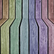 Colorful 3d Wood Background — Foto de Stock