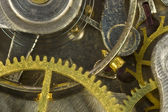 Macro of watch gears — Stock Photo