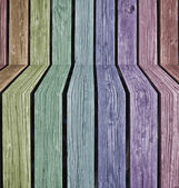 Colorful 3d Wood Background — Stock Photo