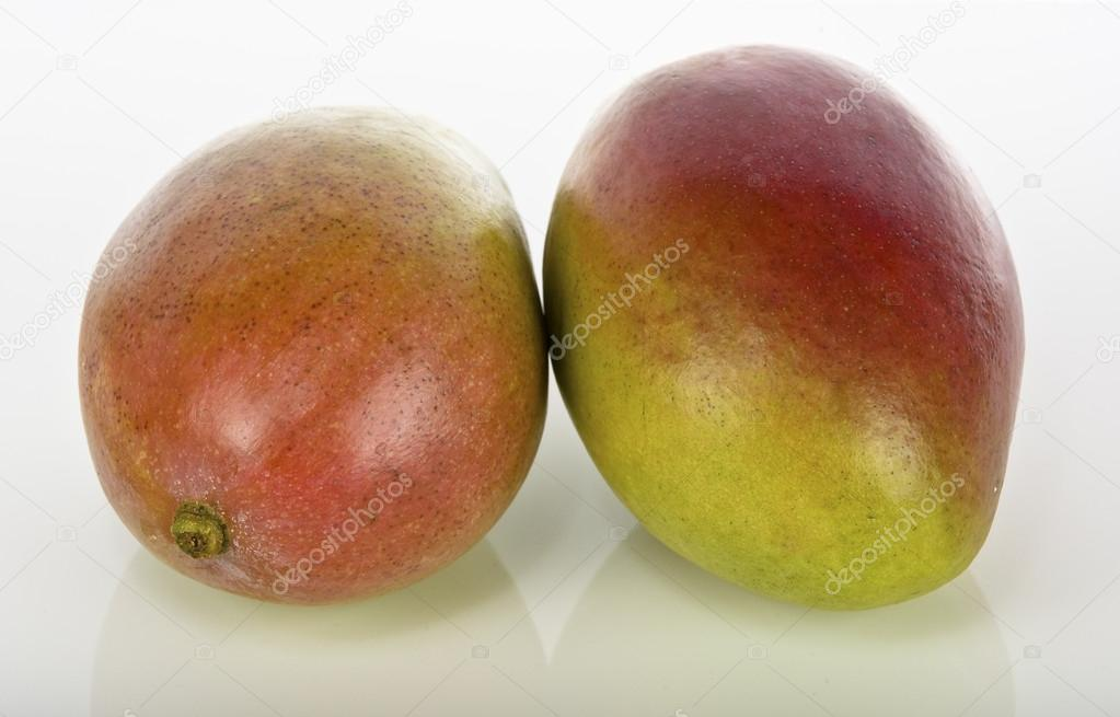 Mango isolated on white background  Stock Photo #14931879