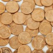 Many gold coins — Stock Photo