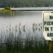 Sign No fishing — Stock Photo #15537655