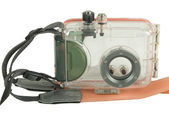 Under water camera housing — Stock Photo