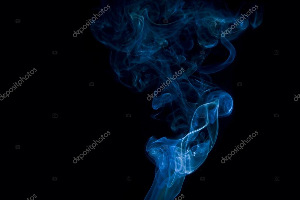 Abstract smoke isolated on black — Stock Photo #15536387