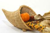 Corn basket — Stock Photo
