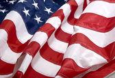 Americká vlajka pozadí — Stock fotografie