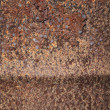 Rusty metal barrel background texture — Stockfoto