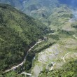 Mountain road banaue luzon philippines - Stock Photo
