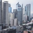 Stock Photo: Makati avenue manilcityscpe philippines