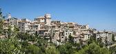 Mediterranean alps hill town france — Stock Photo