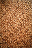 Native style filipino rattan mat — Stock Photo