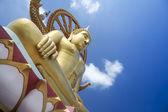 Grote boeddha tempel koh samui thailand — Stockfoto
