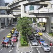 Stock Photo: Bangkok traffic siam sqaure mrt