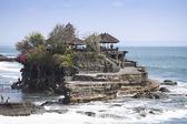 Tanah lot sea temple bali — Stock Photo