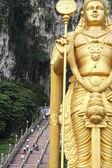 Lord murugan statue batu caves — Stock Photo