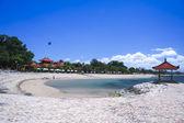Sanurbeach resort bali indonesia — Stock Photo