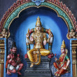 Batu caves hindu wall art malaysia — Stock Photo #25286063