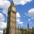 Big ben clock tower london - Stock Photo
