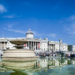 Trafalgar square london summer day — Stock Photo #25359759