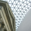 British Museum Great Court London — Stock Photo
