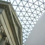 British Museum Great Court London — Stock Photo