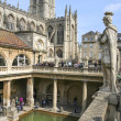 Постер, плакат: Romans Baths and Abbey Historic Bath