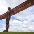 Angel of the North Gateshead - Stock Photo