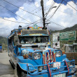Stock Photo: Colorful jeepney philippines local transport