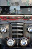 Angeles Sapangbato Jeepney Philippines — Stock Photo