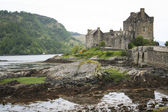 Eilean donan castle highlands of scotland — Stock Photo