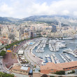 Monte carlo city monaco french riviera — Stock Photo