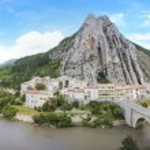 ������, ������: Sisteron river durance route napoleon