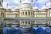 Royal pavillion panorama brighton — Stockfoto