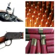 Royalty-Free Stock Photo: Gun Collage