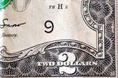 Two Dollar Bill — Stock Photo