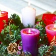 Foto Stock: Advent Crown