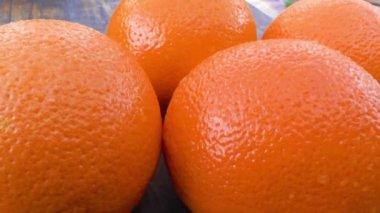 Oranges — Stock Video