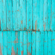 Old shabby painted fence. Rural abstract backgrounds — Stock Photo #26807237