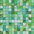 Many small colour square mosaic. pattern texture. abstract image — Stock Photo
