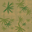 Flying hemp background. Abstract texture — Stock Photo