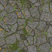 Krajiny design z kamenů v trávě. vzor tapety — Stock fotografie
