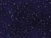 Night sky covered with many bright stars — Stock Photo