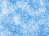 Origens da queda de neve de um clima frio de luz solar — Foto Stock