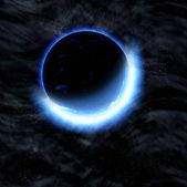 Eclipse of planet. cosmos sky backgrounds — Stock Photo