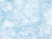 Motion snowfall backgrounds of a sunlight cold weather — Stock Photo