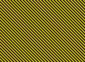 Blank alternation yellow and black diagonal stripes — Stock Photo