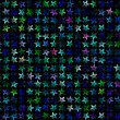 Many multicolored stars background. holiday symbol — Stock Photo