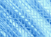 Abstract blue windows glass transparent backgrounds — Stock Photo