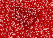 Many red hearts on a love backgrounds — Stockfoto